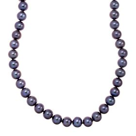 8-9 mm Black Pearl Strand Necklace