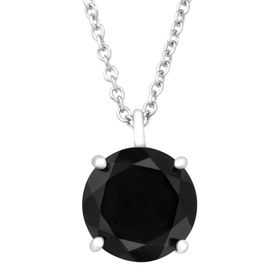 10 mm Black Jade Pendant