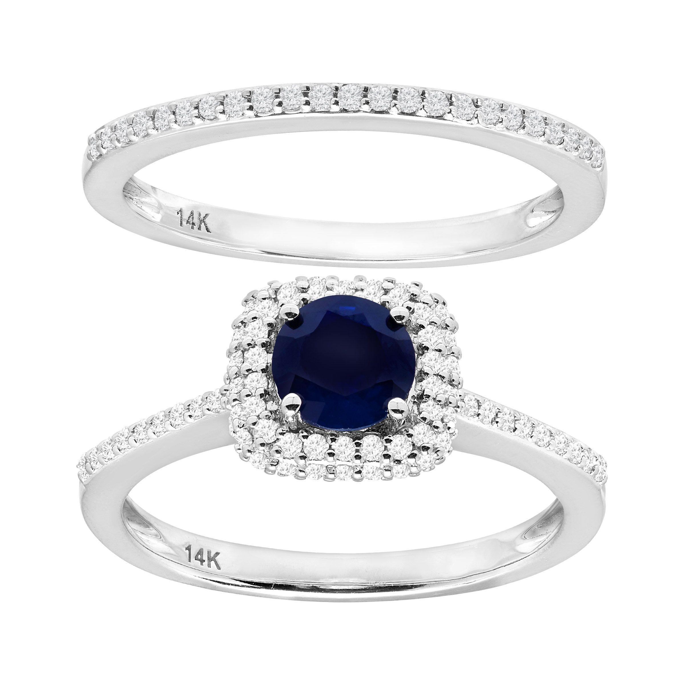 78 Ct Natural Shire Amp 12 Diamond Engagement Ring