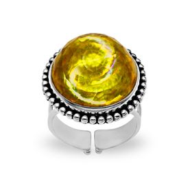 15 ct Gold Tornado Quartz Ring