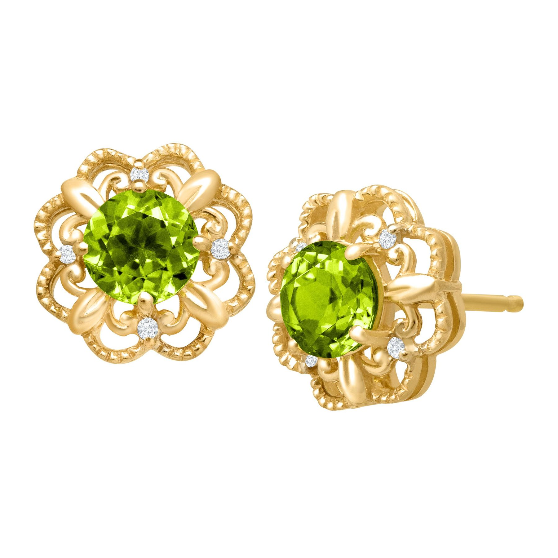peridot insp shop august gabriella faceted jewelry kiss earrings tiny