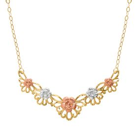 Floral Garland Necklace