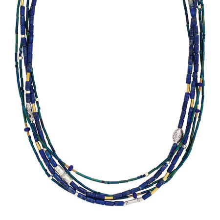 Into the Blue Necklace
