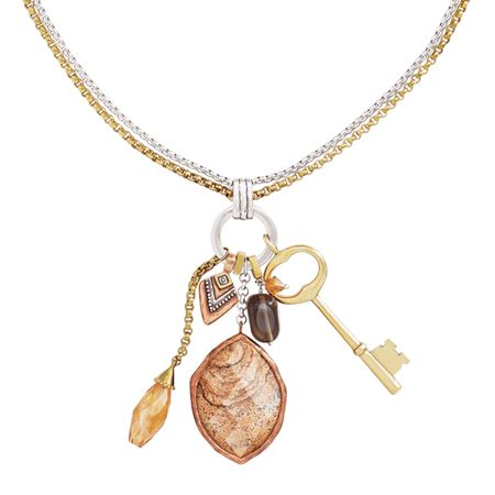 d603e2983 Silpada 'Hold the Key' Pendant with Natural Smoky Quartz & Swarovski ...