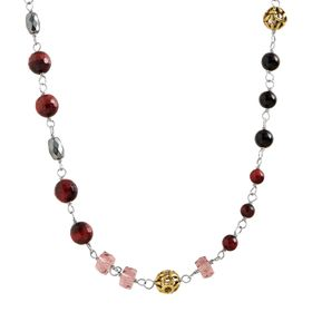 Burgundy Blush Necklace