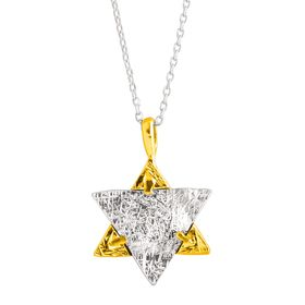Reversible Star of David Pendant