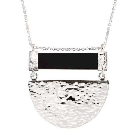Modern Contrast Necklace