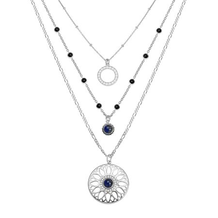 Moonflower Layered Necklace