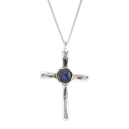 Moonlight Cross Pendant