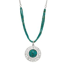 Seal the Teal Pendant