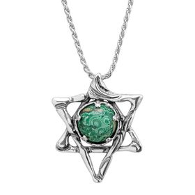 Star of David Eilat Pendant