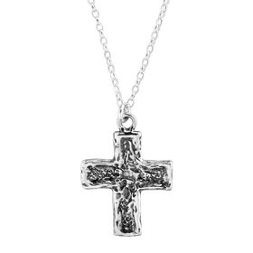Carved Cross Pendant