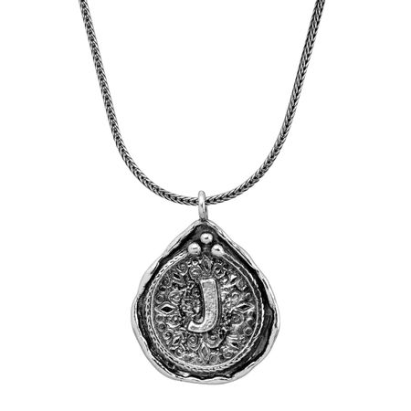 41de5625aac5e Silpada Namesake Collection 'J' Initial Pendant in Sterling Silver
