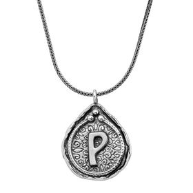 Namesake Collection 'P' Pendant