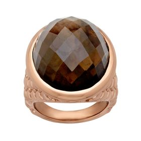 22 ct Smoky Quartz Ring