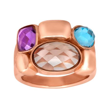4 ct Multi-Stone Ring