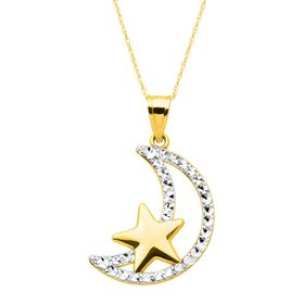 Moon & Star Pendant