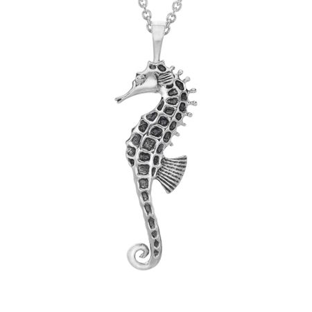 Kabana large seahorse pendant in sterling silver large seahorse large seahorse pendant aloadofball Image collections