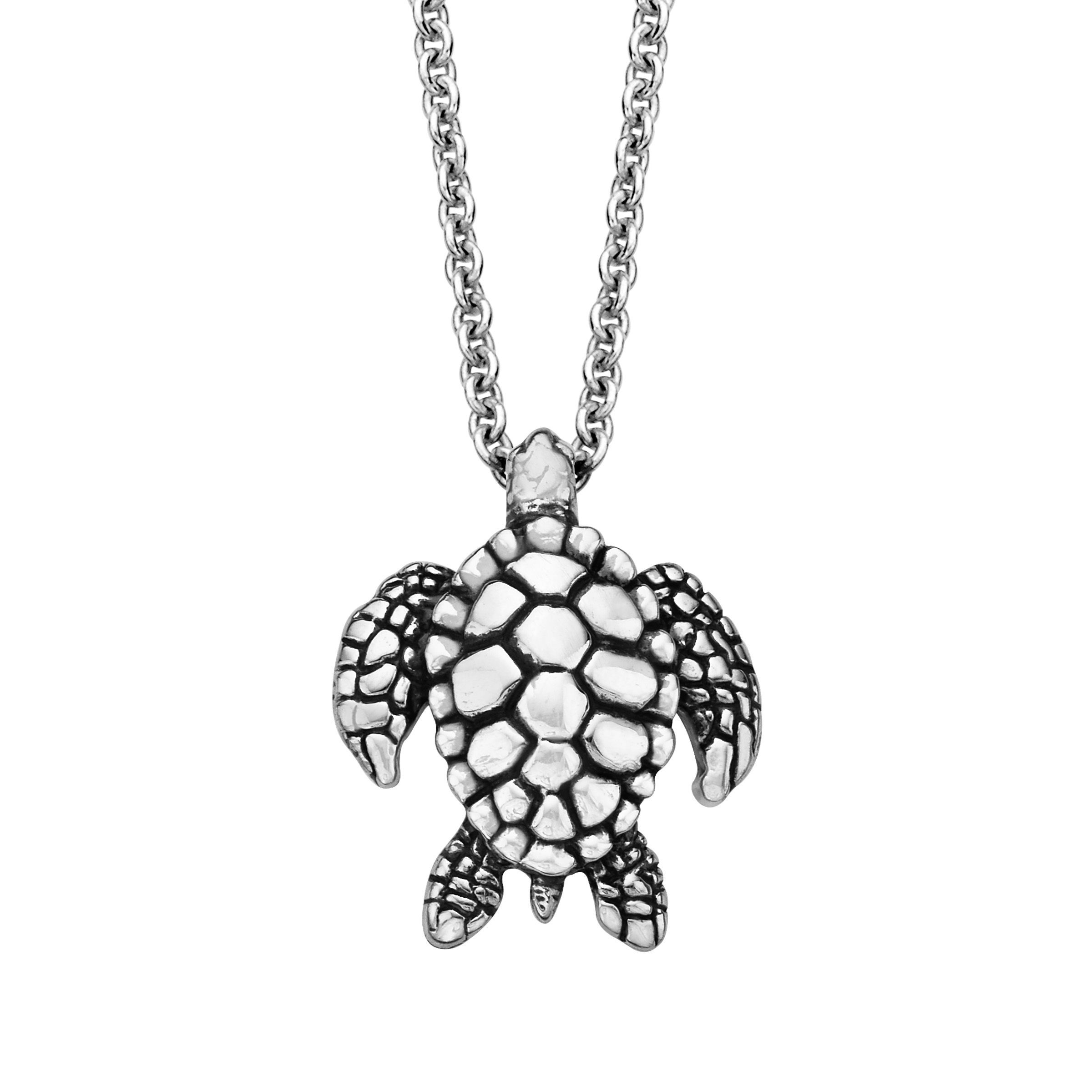 Kabana pebbled sea turtle pendant in oxidized sterling silver ebay kabana pebbled sea turtle pendant in oxidized sterling silver aloadofball Image collections