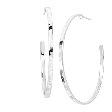 a762131d0bcc4a Silpada 'Circle Up' Hoop Earrings in Hammered Sterling Silver ...