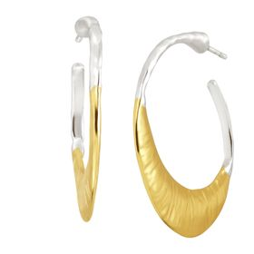 Good Vibes Hoop Earrings