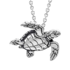 Small Sea Turtle Pendant