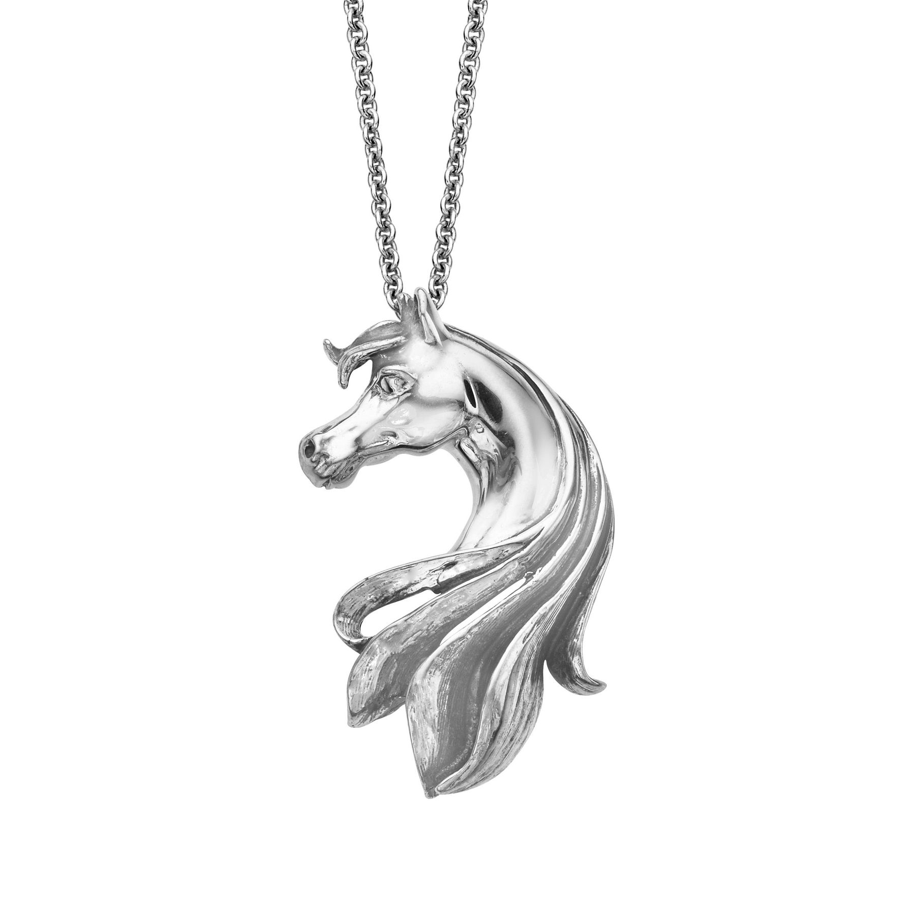 Kabana horse pendant in sterling silver horse pendant jewelry horse pendant aloadofball Images