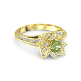 Brilliant Lotus Ring