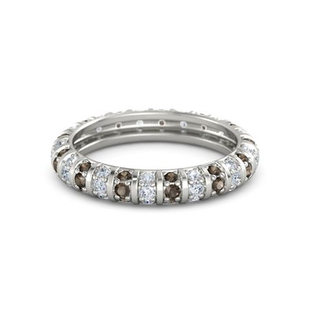 Pinstripe Eternity Band