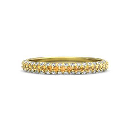 halo citrine diamond and in ring main blue yellow round lrg phab gold detailmain