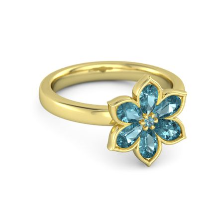 Enchanting Flower Ring