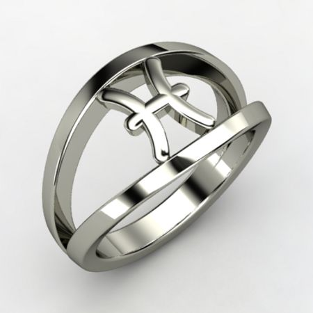 Pisces Zodiac Ring
