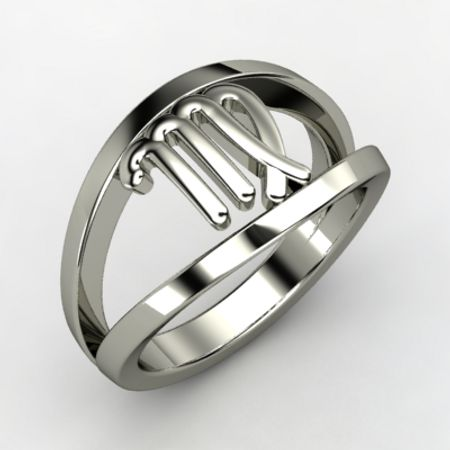 Virgo Zodiac Ring