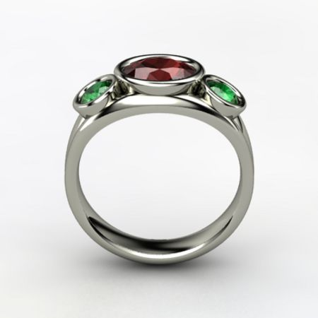 Alexa Oval Ring