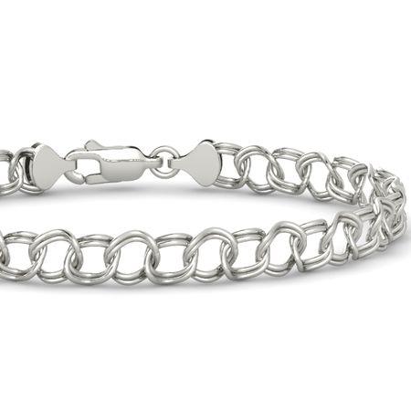 Large Link Charm Bracelet