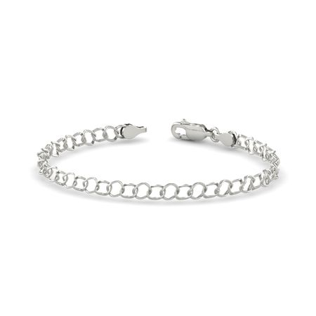 Small Link Charm Bracelet