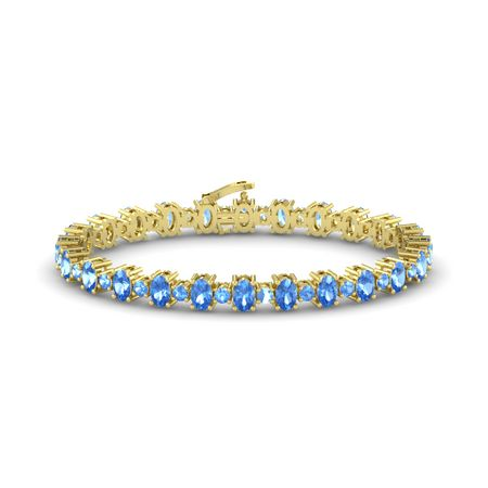 Jocelyn Star Bracelet (3-6mm gems)