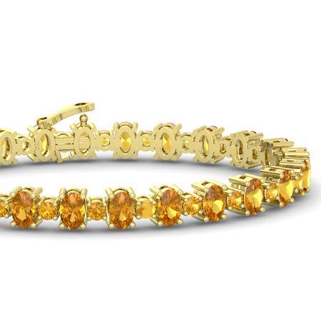 Jocelyn Star Bracelet 3 6mm Gems