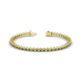 14K Yellow Gold Bracelet with Alexandrite