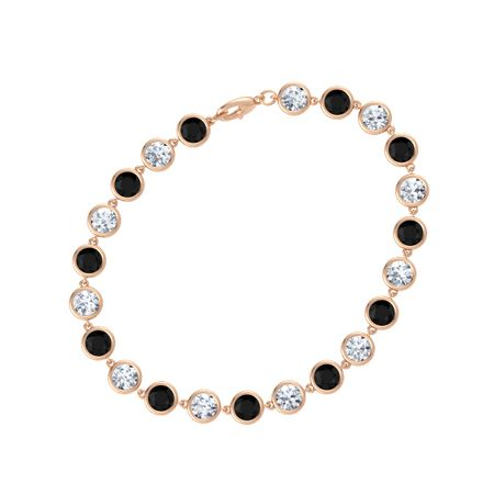 Gemstones By The Yard Twenty Two Stone Bracelet