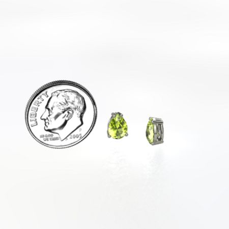 Pear Stud Earrings