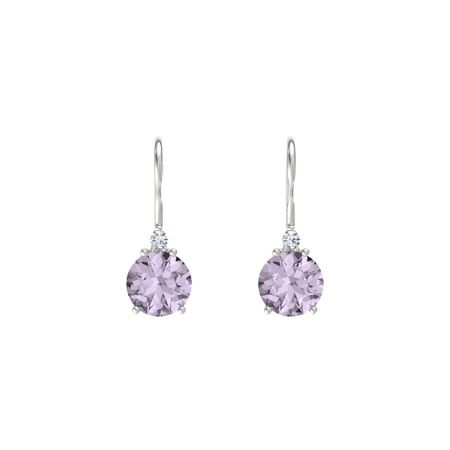 and petite products varenna rose jewel two rf diamond collection de pietra earrings france tone