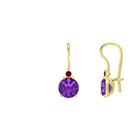 Brilliant Solitaire Earrings