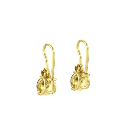 Gem Flame Earrings