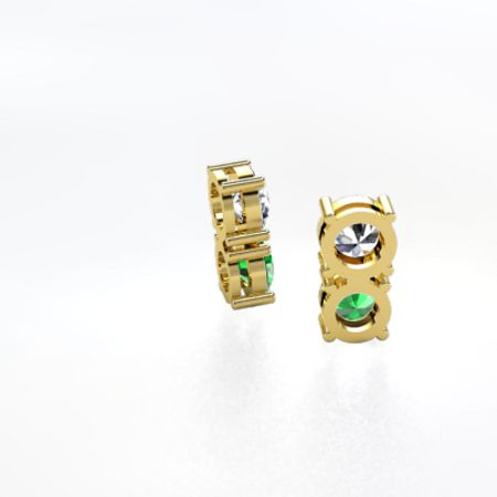 Two Together Earrings