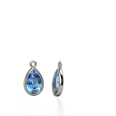 Pear Gem Drop Earrings