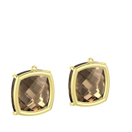 Pure Cushion Earrings