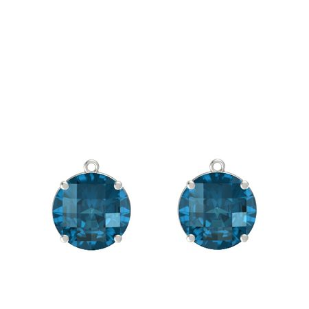 Pure Round Medium Earrings