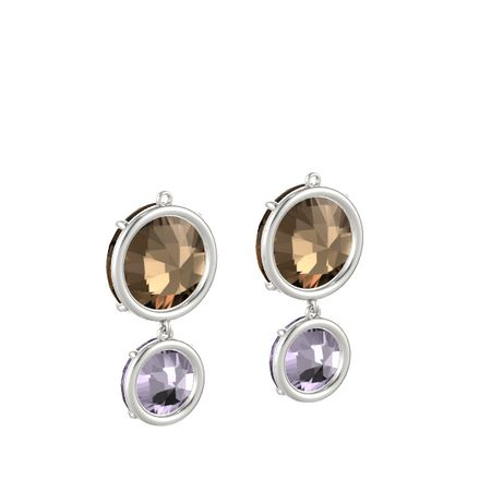 Pure Round Double Earrings