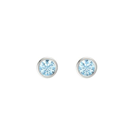 Gemstones By The Yard Stud Earrings (6mm gems)